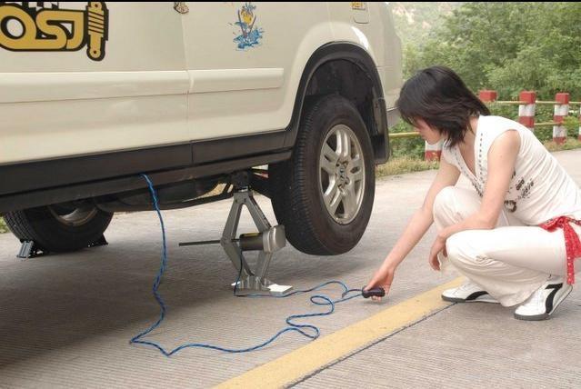 sử dụng con đội điện ô tô